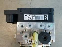 04-09 Toyota Prius Abs Brake Antilock Pump Accumulator 44510-47050 Oem