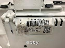 06-07 Accord 4Dr EX MT Instrument Cluster Speedo Tacho Meter Gauges 6k OEM