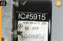 07-09 Mercedes W221 S550 CL550 ABS Anti Lock Brake Pump Module 2215458732 OEM