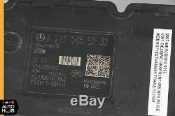 07-09 Mercedes W221 S550 CL63 AMG ABS Anti Lock Brake Pump Module 2215455232 OEM