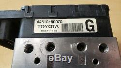 07-15 Anti-lock Brake Abs Actuator And Pump Lexus Ls460 # 44510-50070 As Is