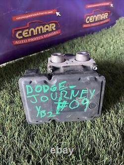 09 2009 Dodge Journey ABS Unit Anti Lock Brake Pump Module Assembly P04743821AI