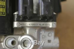 10-15 TOYOTA PRIUS BOOSTER ANTI LOCK BRAKE ABS PUMP (FITS LEXUS HS250h 10-12)