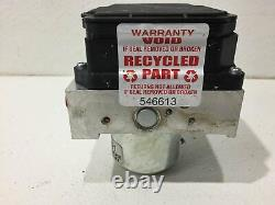 11 12 honda accord 4dr 3.5 abs pump & module 2A20E-0347 A1VAA anti-lock brake