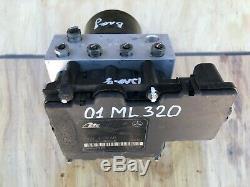 2001 Mercedes ML320 W163 ESP ABS ANTI LOCK BRAKE PUMP & CONTROL MODULE OEM