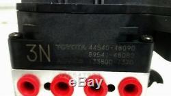 2004-2007 Toyota Highlander Anti Lock Abs Brake Pump Assembly Fwd 44540-48090
