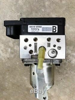 2004-2009 Toyota Prius Abs Anti-lock Brake Pump Actuator Assembly 05 06 07 08