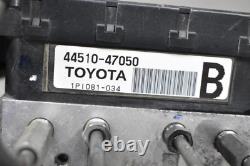 2006 2007 2008 2009toyota Prius Nhw20 Anti Lock Abs Brake Pump Actuator Assembly