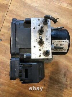 2007 Mercedes W221 S550 Anti Lock Brake Abs Pump Module 2214310312 Oem 01