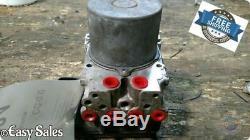 2008 TOYOTA HIGHLANDER ABS PUMP ANTI-LOCK BRAKE WithO HYBRID 4WD/AWD 89541-48230