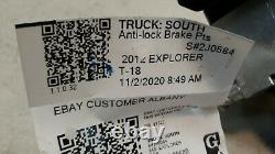 2011 2012 Ford Explorer ABS Pump Modulator Anti Lock Brakes Adaptive Cruise