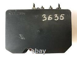 2012 2013 12 13 Toyota Corolla 1.8 Anti Lock Brake Module Abs Pump 44540-02272