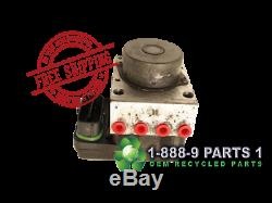 2013 TOYOTA COROLLA ANTI LOCK BRAKE ABS PUMP 44050-02522 Stk# L402918