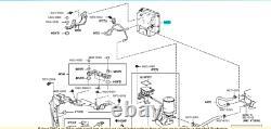 44510-48080 Abs Pump Anti-Lock Brake Actuator Highlander For Hybrid Lexus Rx450h