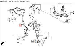 91-95 Legend Left Front ABS Sensor A. L. B. Wheel Speed Pickup Knuckle Reader OEM
