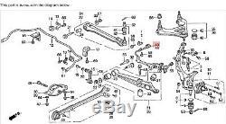 92-96 Prelude Left Rear ABS Sensor Wheel Speed Pickup Knuckle Reader Wire OEM