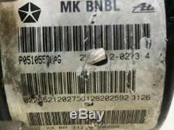 ABS Anti Lock Brake Pump 07-09 Jeep Patriot / Compass 2.0L P05105590AG 5551