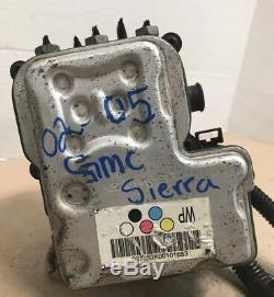 ABS Anti Lock Brake Pump 2002 2003 2004 2005 GMC Sierra 5.3 13451110
