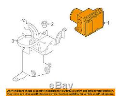 AUDI OEM 05-06 A6 Quattro-ABS Anti-Lock Brakes Control Module Unit 4F0614517J