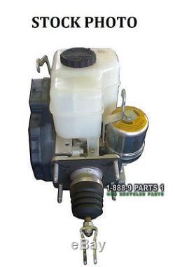 Abs Anti-lock Brake Pump Master Cylinder Booster 08 Toyota Fj Cruiser L329d4