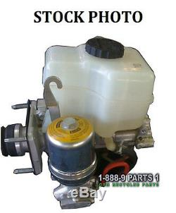 Abs Anti-lock Brake Pump Master Cylinder Booster 08 Toyota Fj Cruiser # L329d8