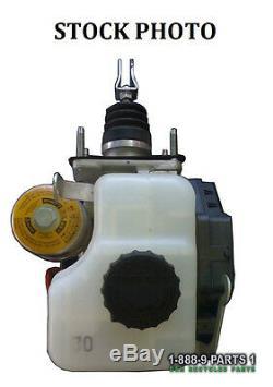 Abs Anti-lock Brake Pump Master Cylinder Booster Toyota Fj Cruiser Mt 2007-2008