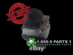 Abs Pump Anti-lock Brake 04 05 06 07 Toyota Highlander 4wd 180 Day Warranty