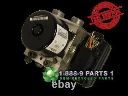 Abs Pump Anti-lock Brake 2009 Ford Escape Mariner Vin G Or F From 12/01/08