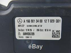 Anti-lock Brake Abs Pump 12-15 Mercedes Gl450 Ml350 W166 A1669013400 Sm01272 D