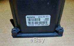BMW 745Li ABS CONTROL MODULE BOSCH ANTI LOCK BRAKE 745i 750 760i 7 SERIES
