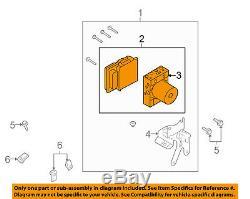 FORD OEM 2009 F-150 ABS Anti-Lock Brake System-Control Module 9L3Z2C219G