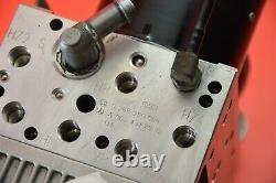 G1 03-06 mercedes w211 e350 e500 abs brake anti lock hydraulic pump 0054317212