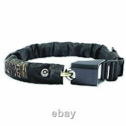 Hiplok Gold Wearable Bike Security Anti Theft Chain Lock Black