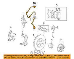 JAGUAR OEM 02-03 X-Type ABS Anti-Lock Brakes Front-Sensor Wire C2S26194