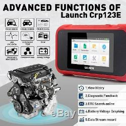 LAUNCH OBD2 Scanner Engine/Antilock Braking/Airbag/Transmission Car code Reader