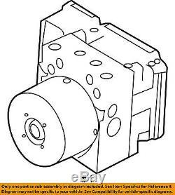 MAZDA OEM 2010 3 ABS Anti-lock Brakes-Modulator Valve BBY7437AZD