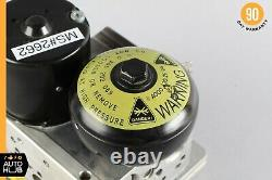 Mercedes R230 SL500 E500 E55 SBC Brake Anti Lock Hydraulic Pump 0084313812 OEM