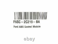 NEW OEM Ford ABS Control Module F6SC-2C219-BA Thunderbird Mark VIII Cougar 94-97