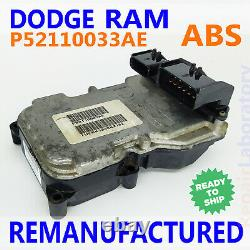 P52110033AE 2003 Dodge RAM 1500 2500 ABS Brake Control Module