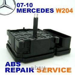Repair Service 2007-2011 Mercedes W204 C230 C280 C300 C350 Glk C63 Abs Esp