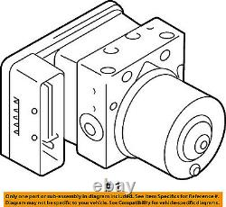 SUZUKI OEM 09-13 Grand Vitara ABS Anti-lock Brakes-Modulator 5611078KC3