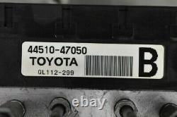 TOYOTA genuine OEM 2004-2009 Toyota Prius Anti-Lock Brakes ABS Pump 44510-47050