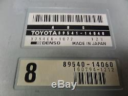 Toyota MK4 Supra Turbo ABS Anti-Lock Brake Computer 93-96 OEM 89541-14040