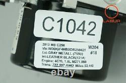 +c1042 W204 C204 Mercedes 12-14 C Class Abs Esp Brake Pump Module 1729014000