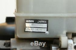01 02 Mitsubishi Montero Servofrein Abs Antiblocage Unité Assemblée Pompe Mr407202
