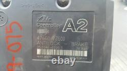 01 02 Nissan Xterra 4x2 Abs Pump Pompe Anti-verrouillage Pompe À Freinage Oem 47660-7z600