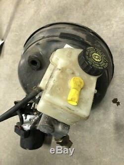 01-03 Bmw E46 M3 Abs Antiblocage De Frein Surpresseur Maître-cylindre
