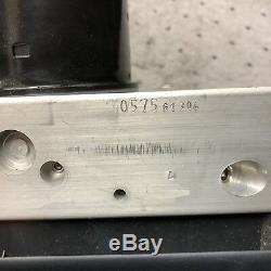 01-03 Bmw E46 M3 Abs Pompe De Freinage Antiblocage 2229801 Module 2229800 Dsc3-es Mk20