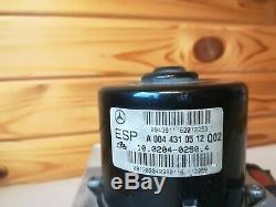 01-03 Mercedes W203 Classe C C320 Antiblocage Abs Contrôle Module Esp A2035451632