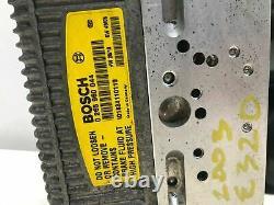 03-04 Mercedes W211 W230 E320 E500 E55 Abs Sl500 Pompe Antiblocage De Frein Module Oem